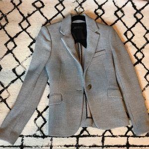 Grey knit Zara blazer